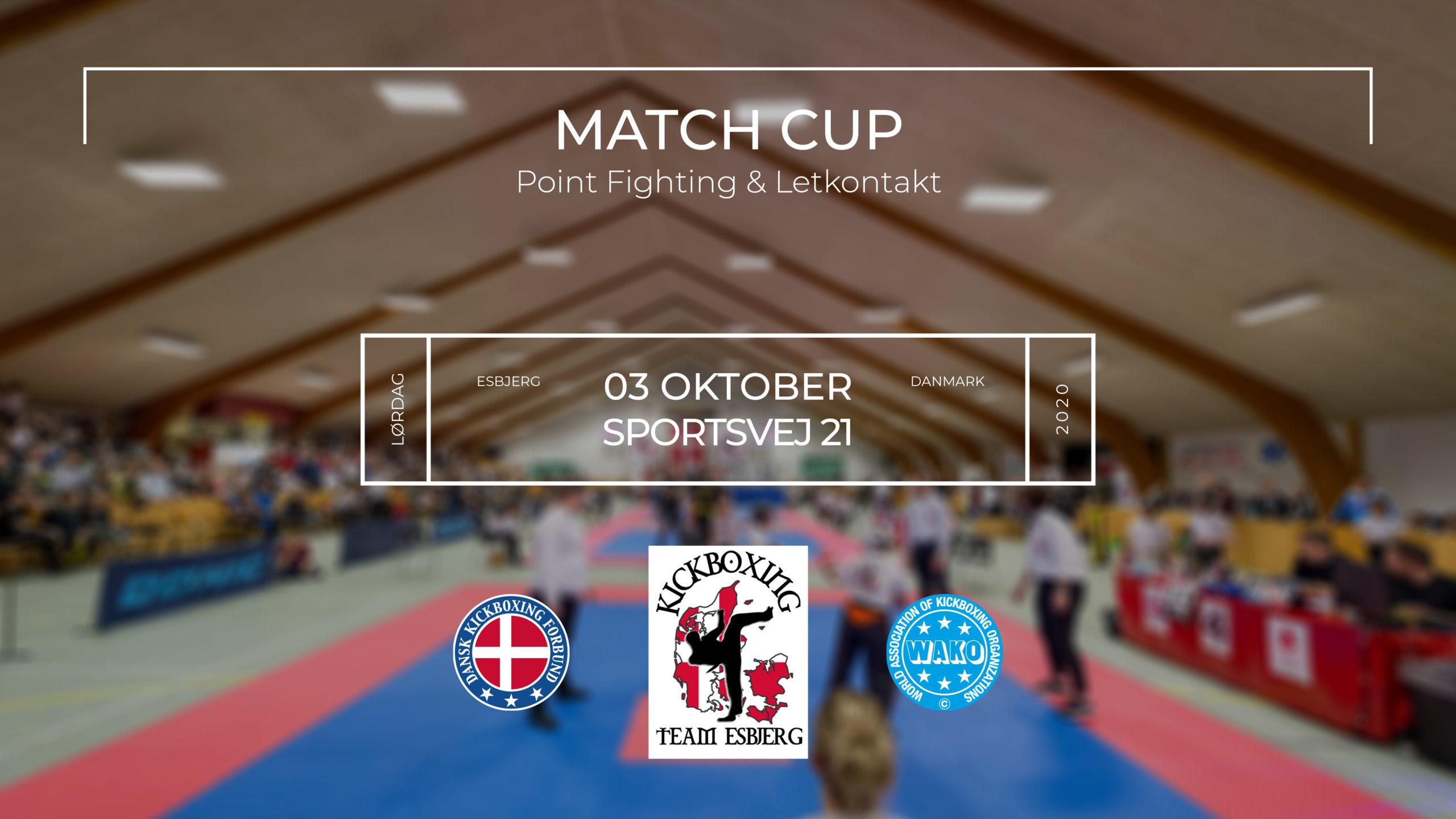 Match Cup hos Kickboxing Team Esbjerg Oktober 2020